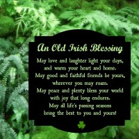 Irish Blessing Printable | Project Inspire{d} Week 56 Link Party and Features