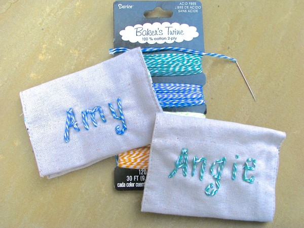 DIY Monogramed Card Holder by Homemadeville - a Project Inspired Feature at AnExtraordinaryDay.net