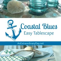 Coastal Blues |  Project Inspire{d} Link Party #77