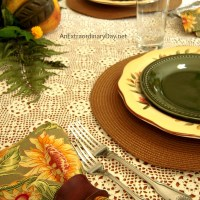 It's the Little Things :: Fall Table for Two