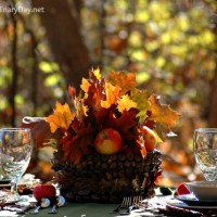 Table Art for Fall or Thanksgiving Table Settings
