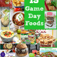 19 Super Game Day Recipes :: Project Inspire{d} Great Ideas!