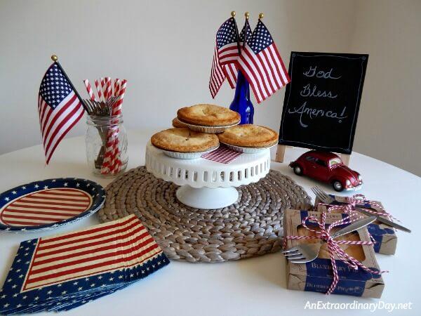 Easy and Inexpensive Dessert Idea to Make Your Fourth Spectacular