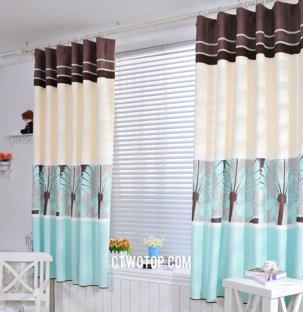 Best Place To Buy Curtains Teal-and-beige-fresh-soundproof-best-places-to-buy