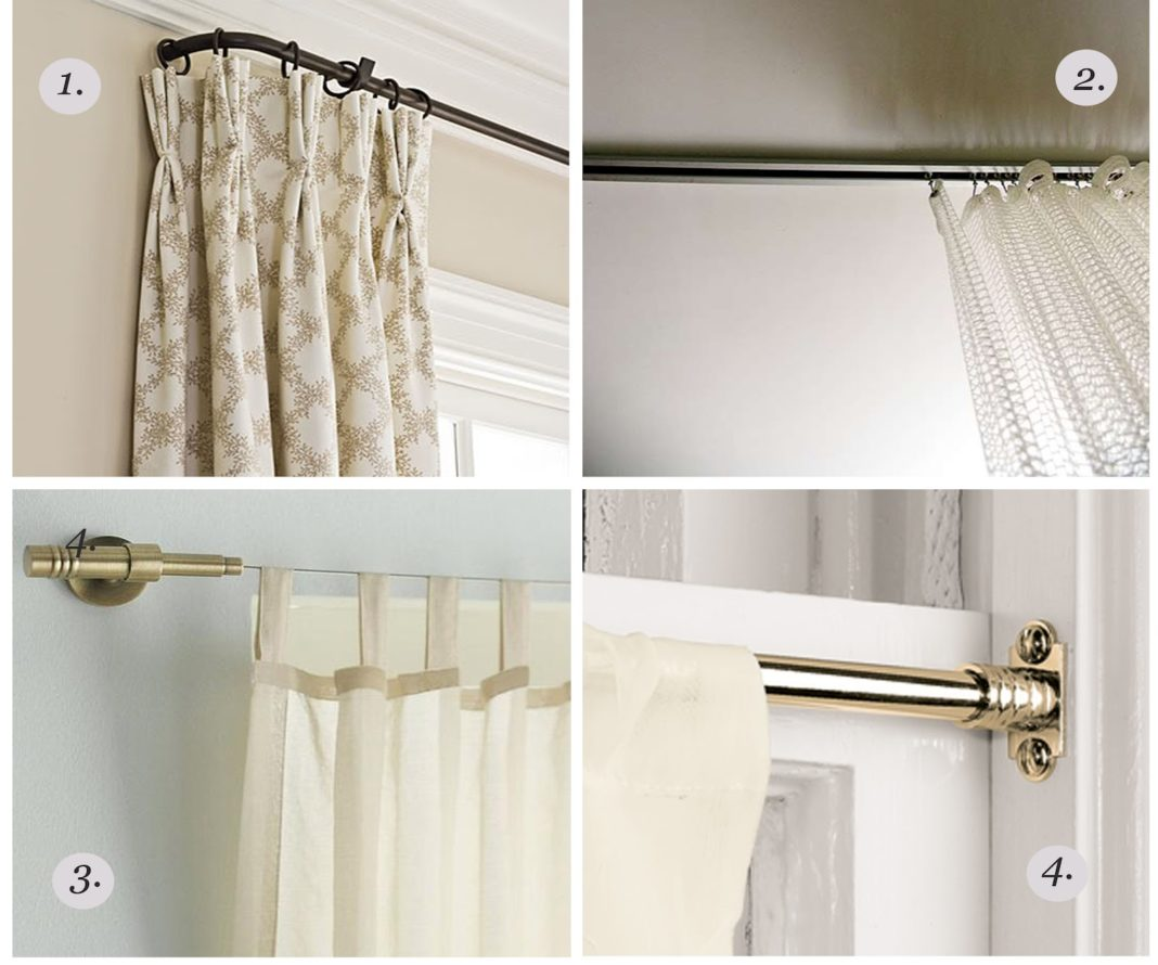 Mounting Curtain Rods Images Of Ceiling Mount Curtain Brackets Home Design Ideas