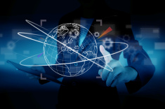 stock-photo-47304092-business-presses-the-virtual-world-map