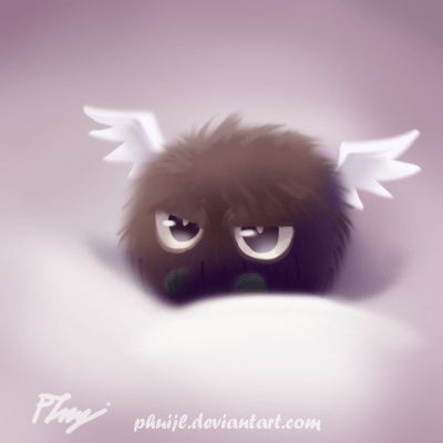 Fluffy And Cute Wallpapers Kuriboh Ail 233