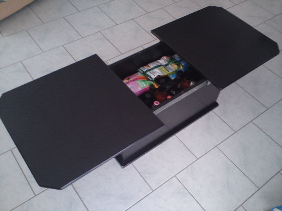 Meuble Tv Bahut Table Basse Bar Noire