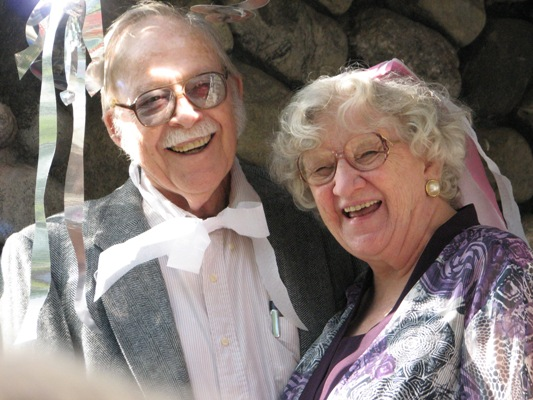 My grandparents, who got the Little Blessings ball rolling
