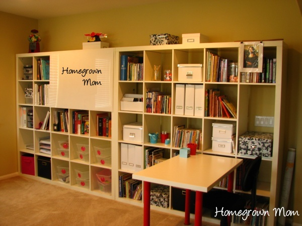 More homeschool room ideas angela mills for Home school room ideas