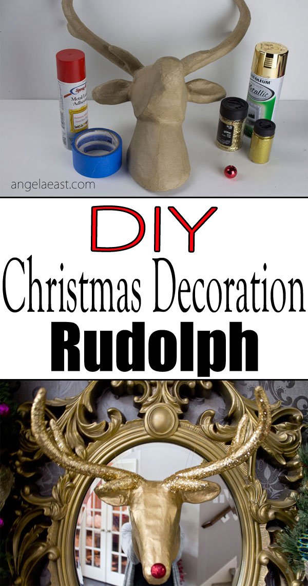 DIY Rudolph | Christmas Decoration | Holiday Decor | Christmas DIY | Home Decor | Home DIY