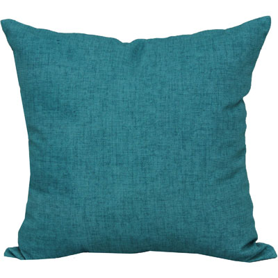 Mainstays Turquoise Solid Outdoor Toss Pillow