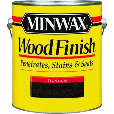 Minwax Wood Finish Penetrating Stain, Ebony
