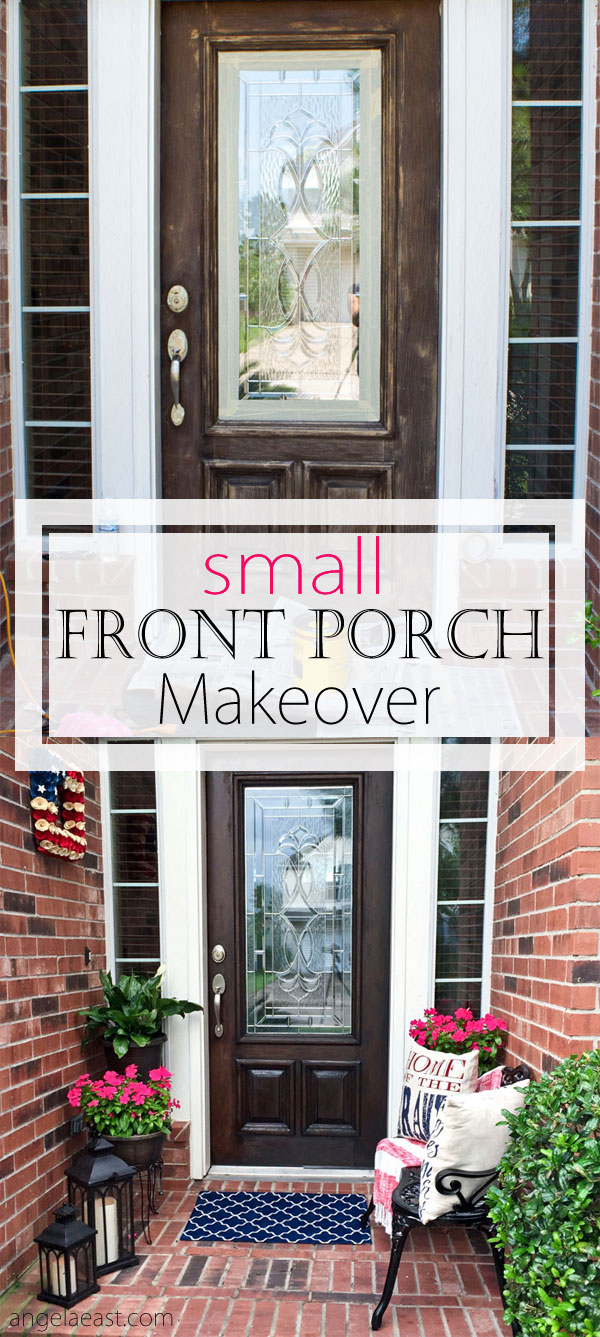 How To Decorate Your Front Porch How To Decorate A Small Front Porch – Angela East