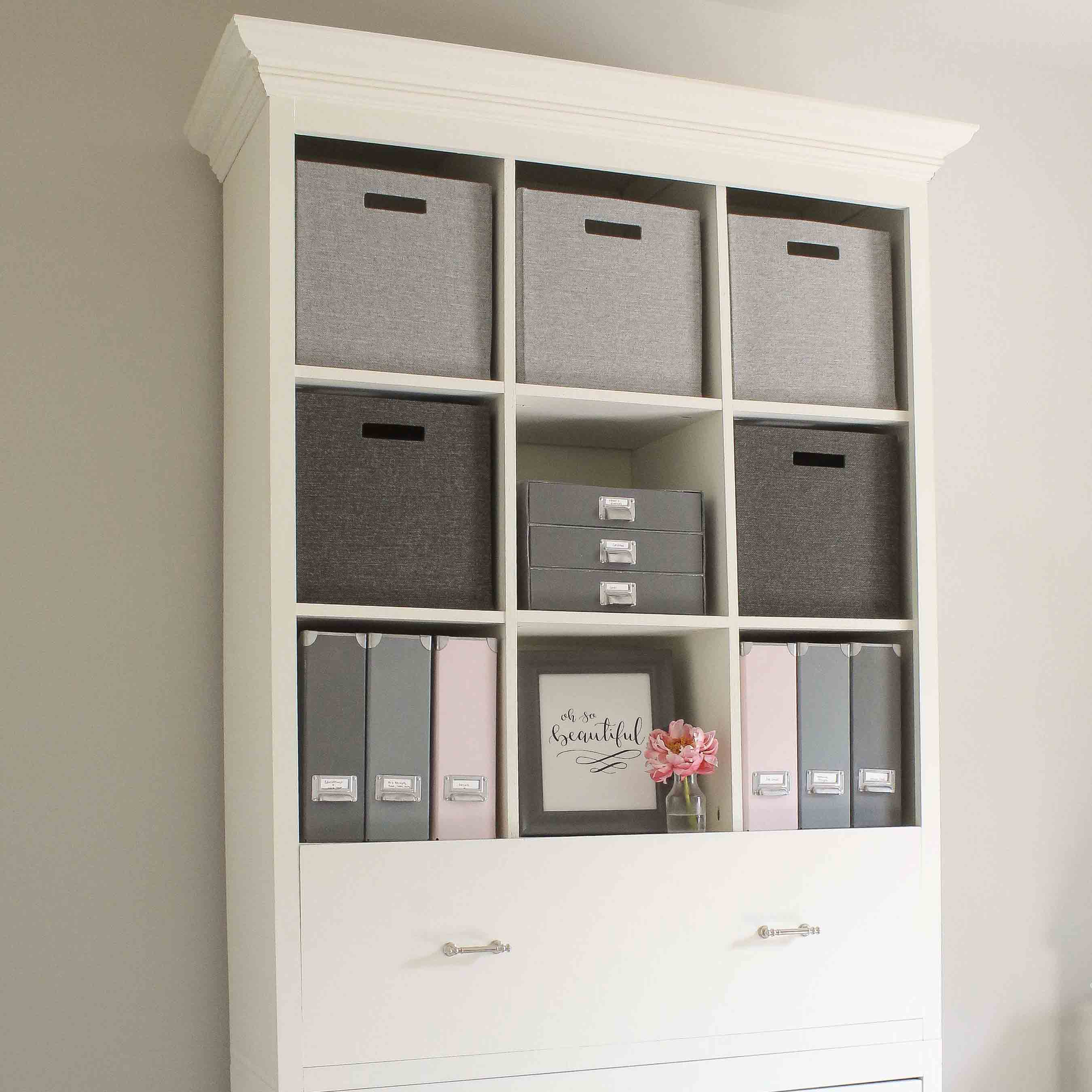 Bookcase Cabinet Diy Office Storage Cabinet Bookcase Angela Marie Made