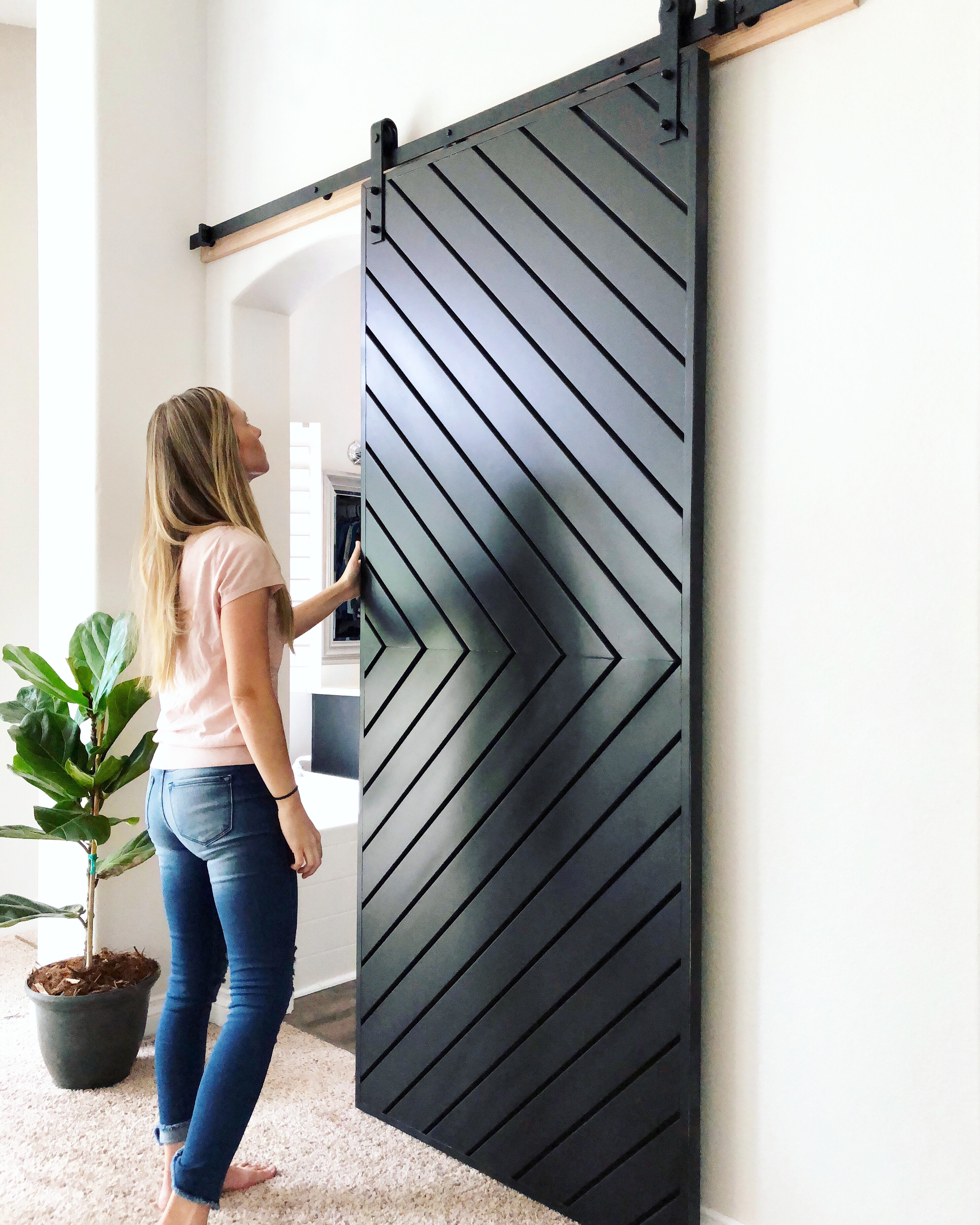 Barn Doors For Homes Build A Modern Barn Door Like Joanna Gaines