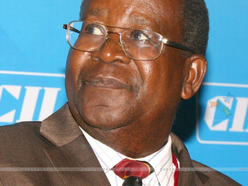 Minister of Finance, Uganda, Ephraim Kamuntu, at the conference