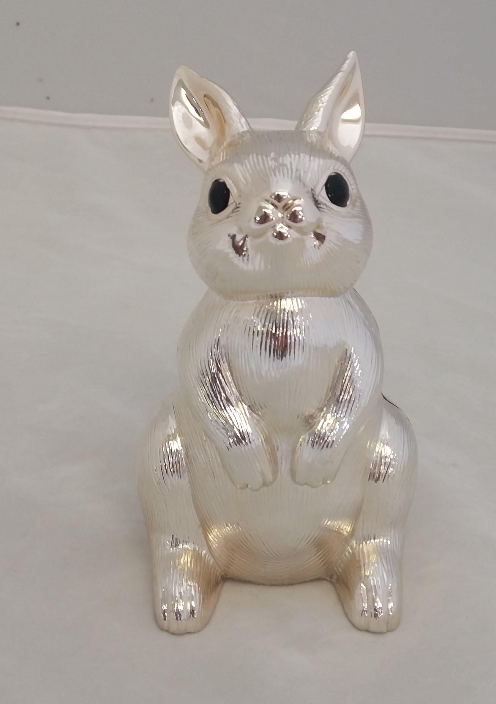 Silver Piggy Bank For Baby Reed And Barton Silver Plate 39bunny 39 Coin Bank