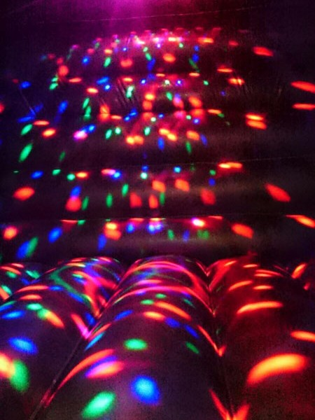 Hire Card Disco Dome | Anglesey Bouncy Castle Hire