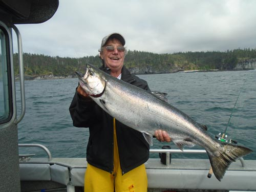 Sitka fishing report september angling unlimited for Sitka fishing report