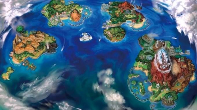 サンムーン地図