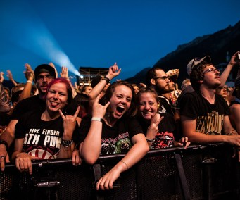 Fans auf dem Greenfield Festival (Photo by Angry Norman)