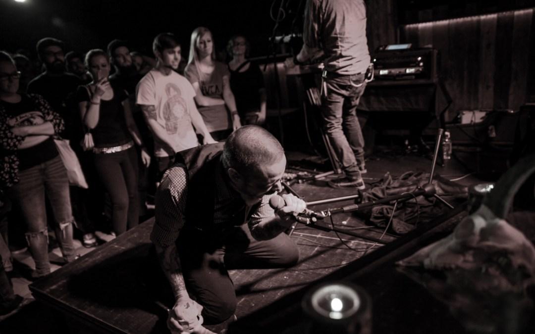 AngryNorman on tour, Tag 1: Nathan Gray in Hamburg