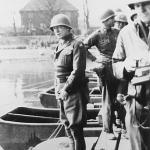 patton watering the Rhine