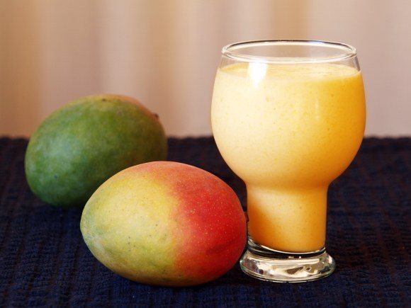 Mango and Apricot Lassi