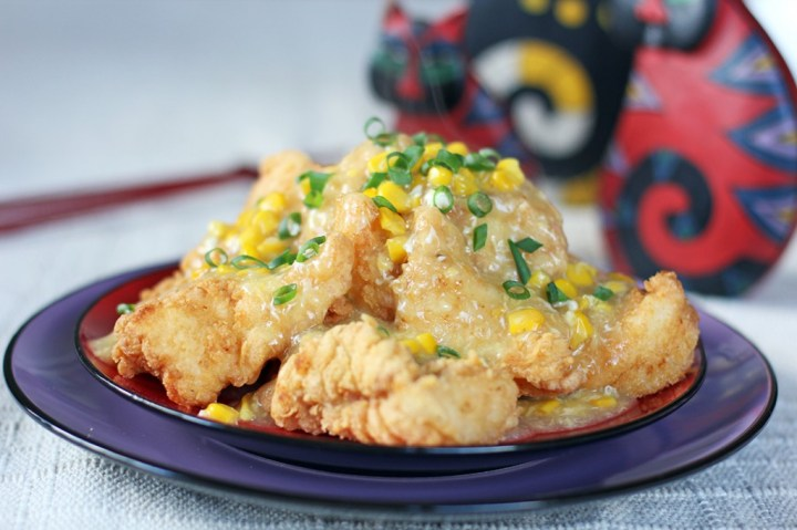 Hong kong style fish fillets in corn sauce ang sarap for Fish fillet sauce