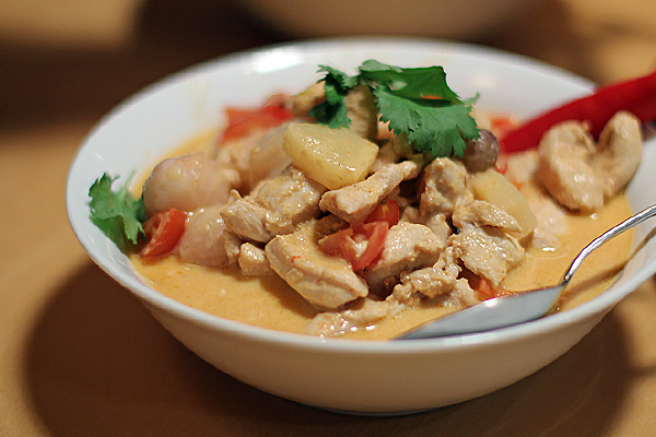 Chicken in Red Curry