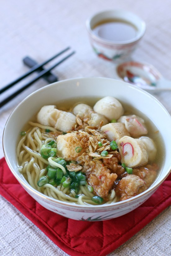Fishball Noodle Soup