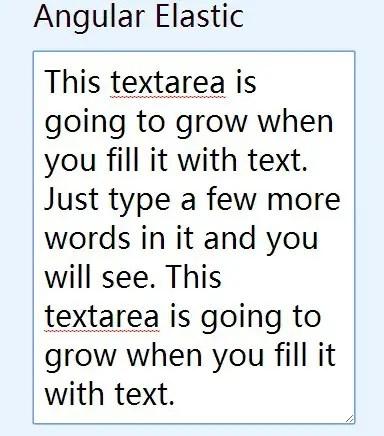 angularjs directive to auto resize textareas angular