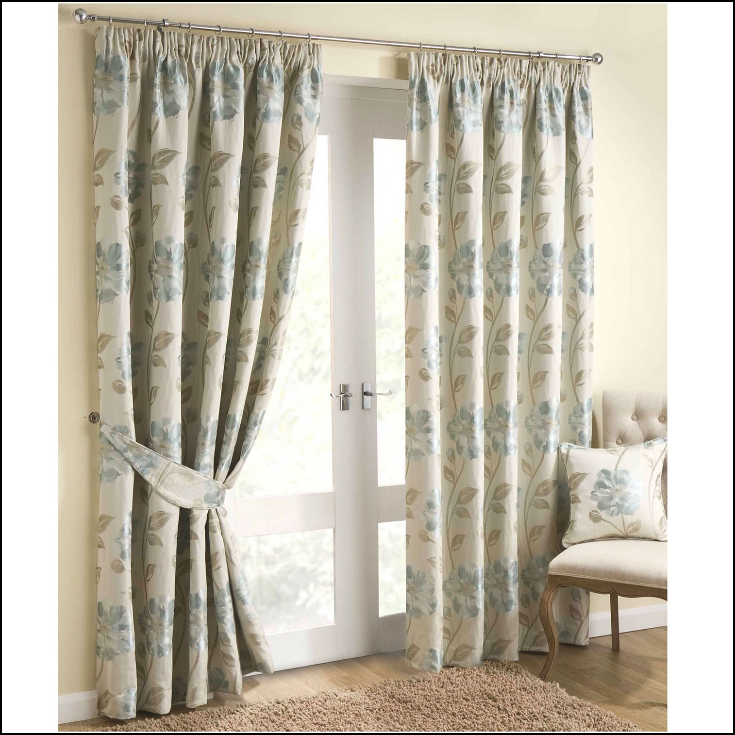 Grey Blue Curtains Blue And Gray Curtains Download Page Home Design Ideas