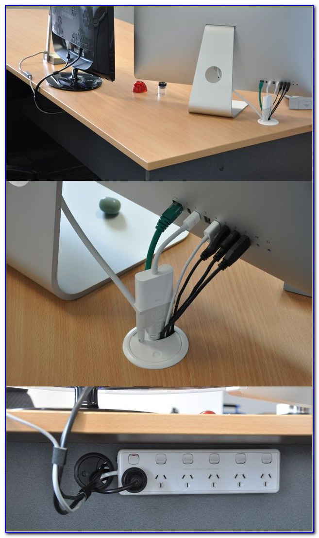 Ikea Wood Desk Under Desk Computer Cable Organizer - Desk : Home Design