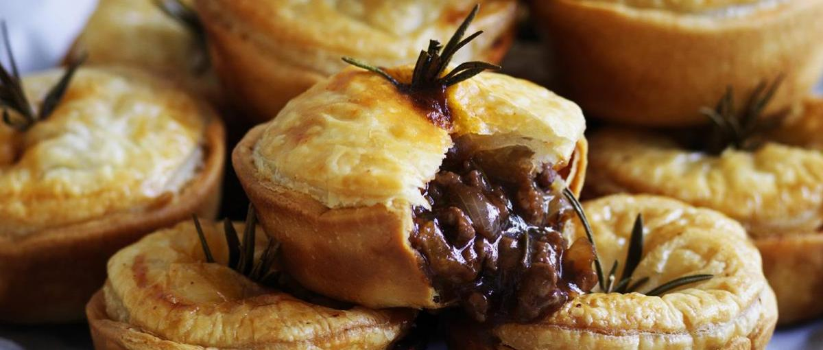 Birthday Banner Nz Red Wine And Rosemary Mini Beef Pies | Anguspure