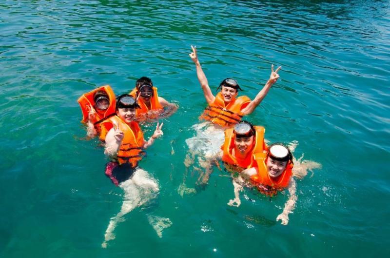 Tổ đội ngắm san hô