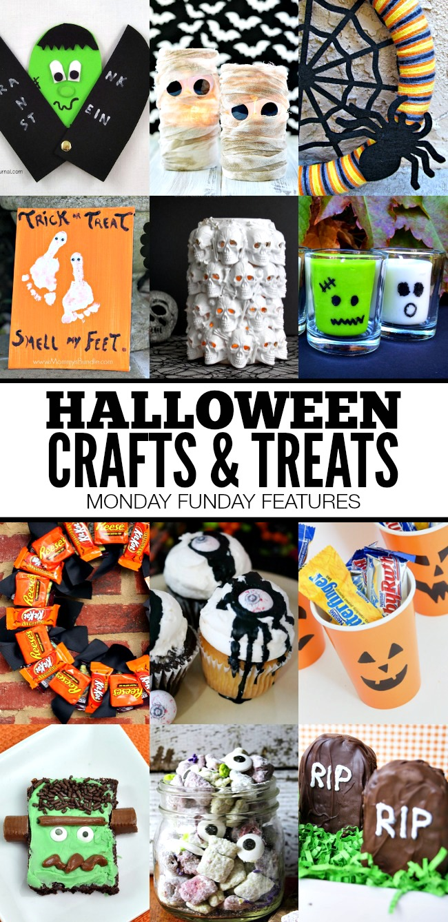 Halloween Crafts and Treats | Monday Funday Features