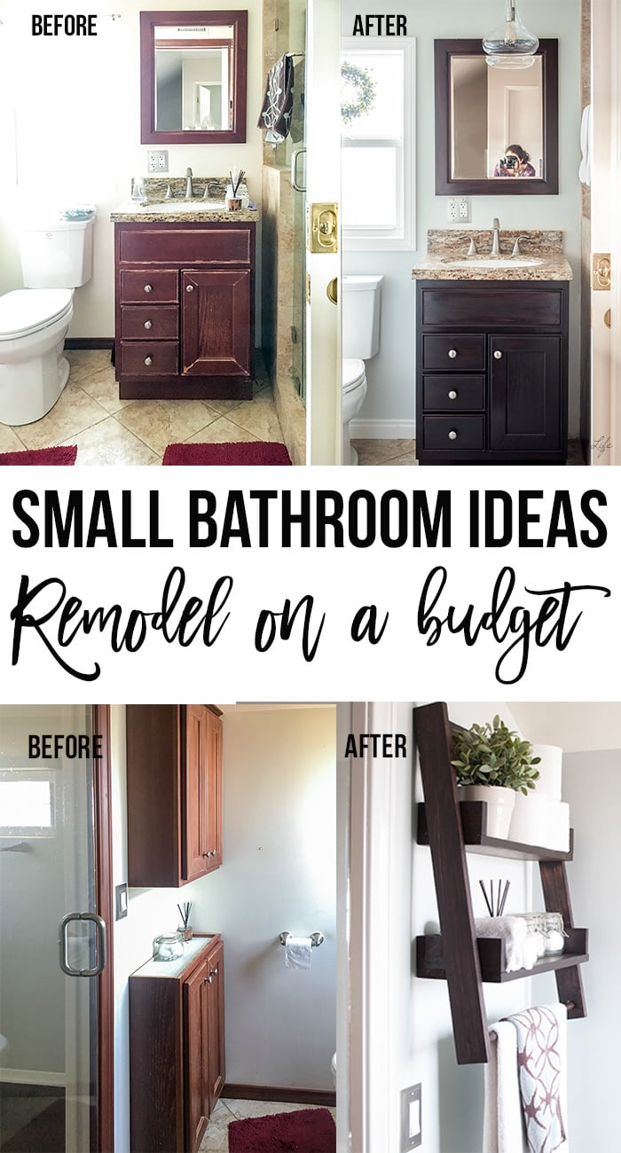 Small Bathroom Remodel Ideas On A Budget Anika S Diy Life