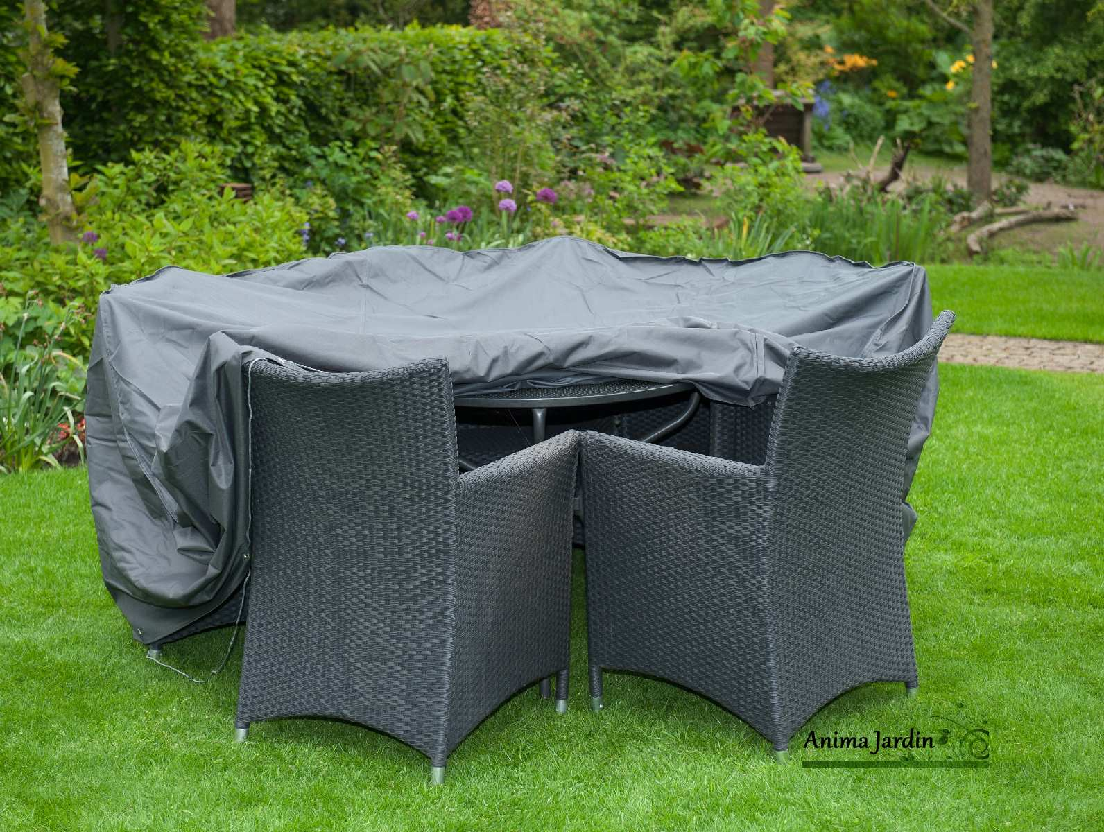 Housse De Table De Jardin Housse De Protection Salon De Jardin Table Ronde Imperméable