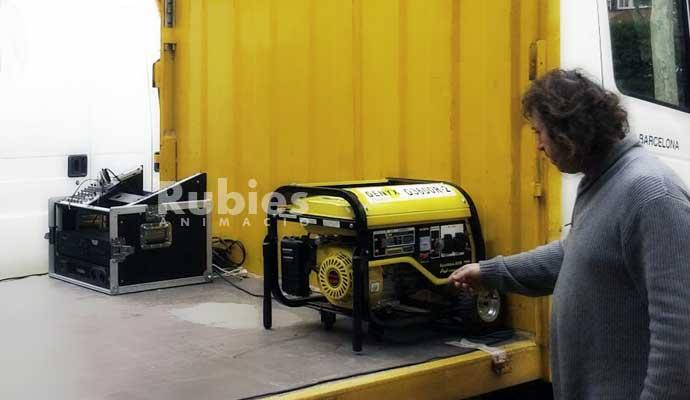Alquiler generadores de corriente para eventos - Generadores de corriente ...