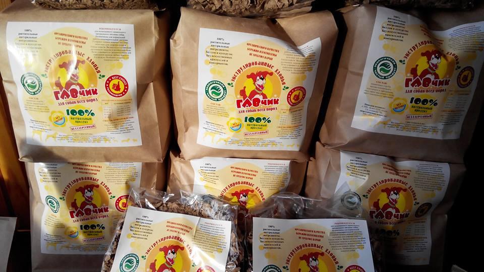 Український екологічний виробник корму для собак
