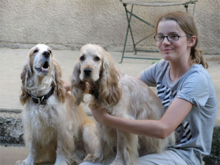 George and Milly with Polly
