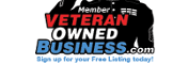 We are a veteran owned business!
