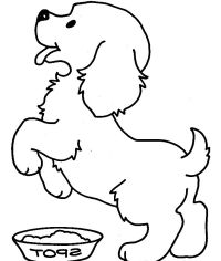 Cute Puppy Coloring Pages For Kids  Free Printable ...