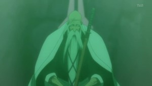 old man Genryusai all green from bleach 245