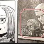 【進撃の巨人】ネタバレ102話考察!最後の真ん中分けの調査兵を考察!ミカサが助けた少女?