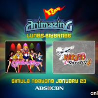 Naruto and Sailor Moon to Air on January 23 on ABS-CBN (Updated 2)