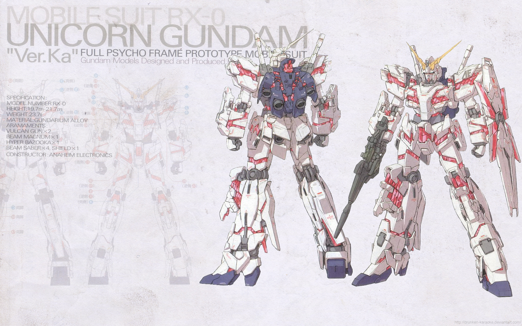 Fairy Tail Girls Wallpapers Gundam Unicorn 49 Free Wallpaper Animewp Com