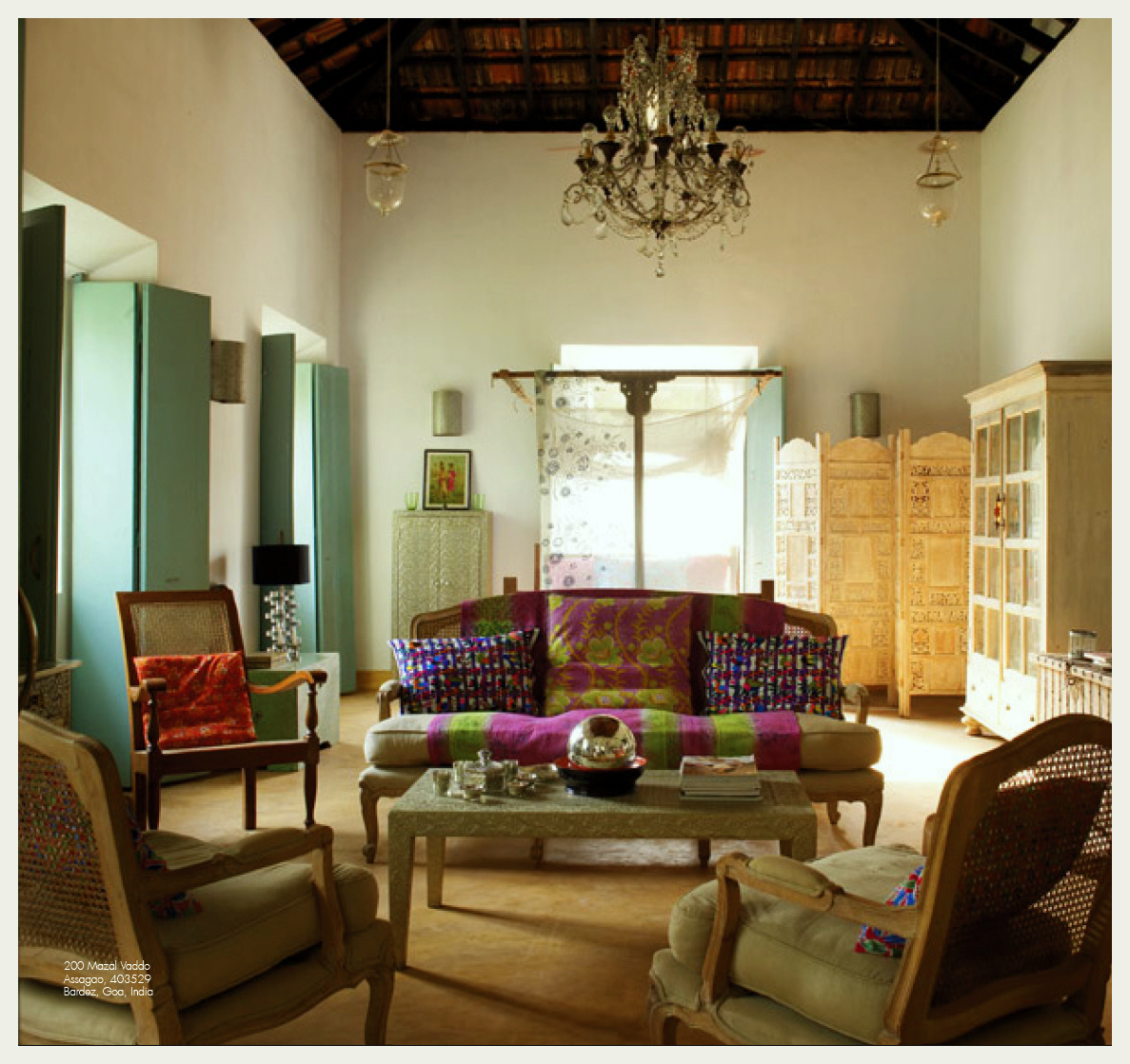 Interior Design Indian Aao Goa Chalen An Indian Summer